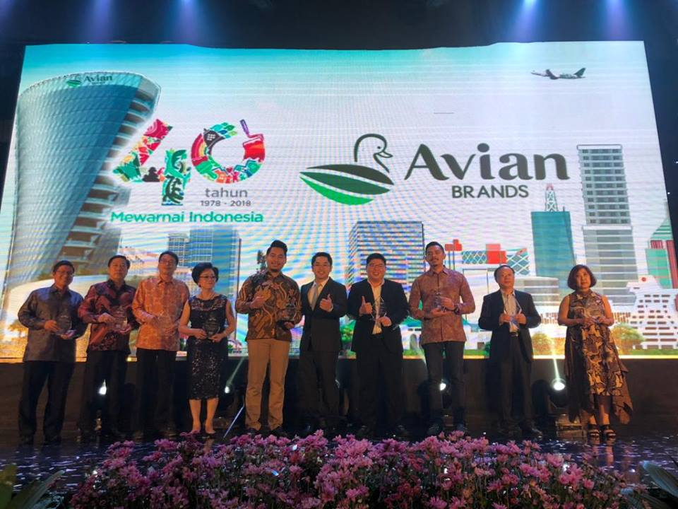 "ITP  was honored with the ""Best Value Creation Vendor"" award at the Avian Paint 40th Anniversary 2018"